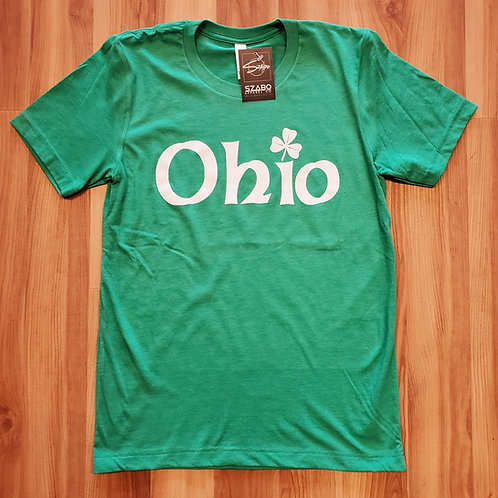 St. Patrick's Day Ohio T shirt