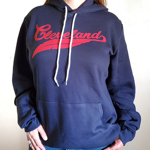 Cleveland Red Feather Hoodie