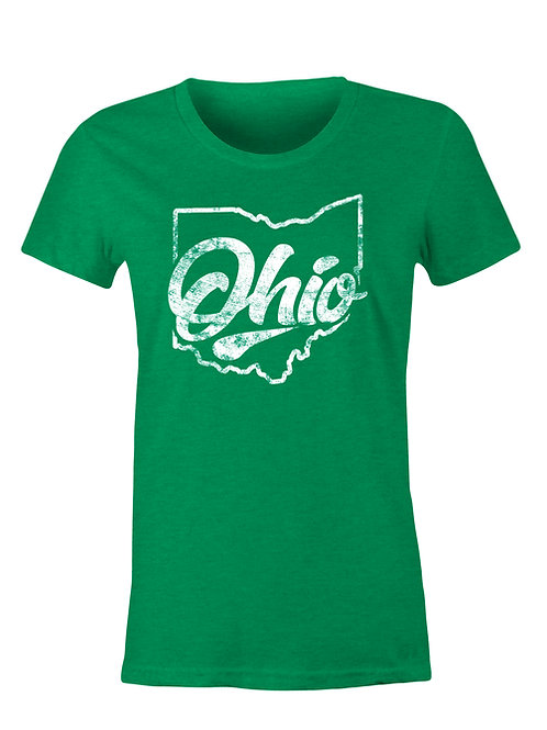 St. Paddy's Day Ohio Ladies Tee