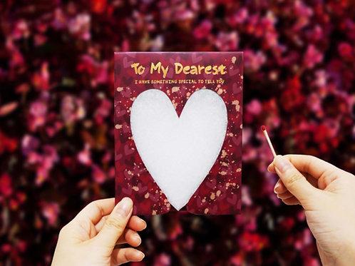 Sparkler Card - To My Dearest