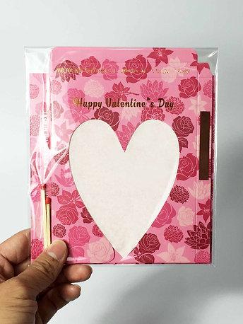 Sparkler Card - Valentine Edition