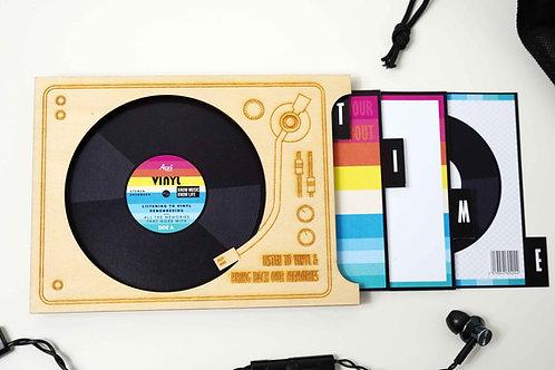 Storytelling Card-Vinyl Disc