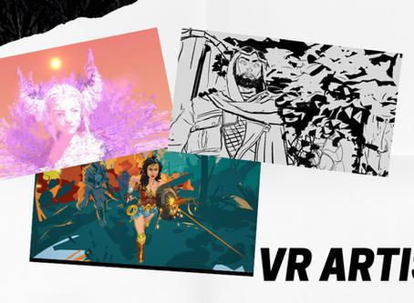 3個著名 VR Artists