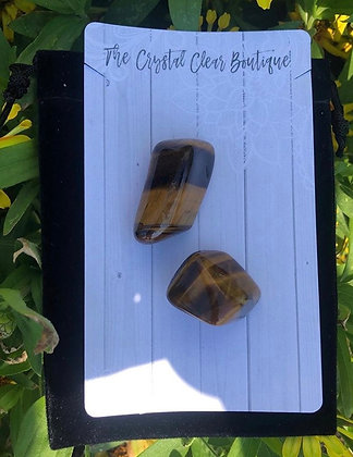Tiger's Eye Personal Stones