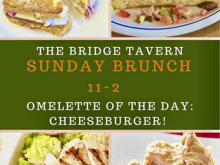 Brunch at the Bridge!  It's a Sunday Funday!