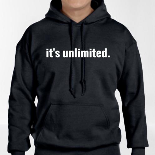 it's unlimited. HOODIE