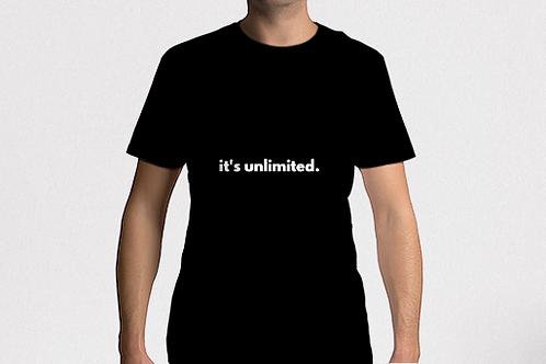 it's unlimited. T-SHIRT