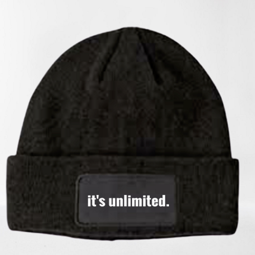 it's unlimited. BEENIE