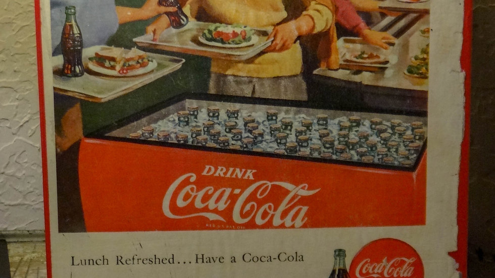 Vintage LIFE magazine ad Coca-Cola