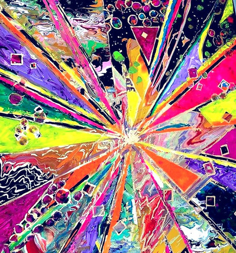 """""""Let_the_Music_Spin_You""""_48x60""""_stretche"""