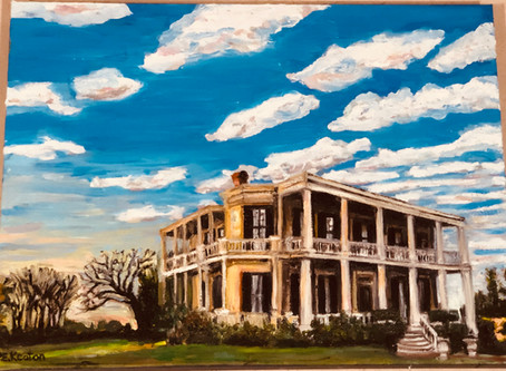 History in Oil - Giddings Stone Mansion