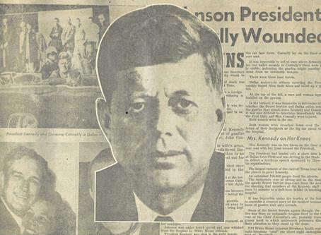 The Houston Press, Houston, Texas, December 9, 1963  EXTRA EXTRA! Read All About It-FourTragic Days