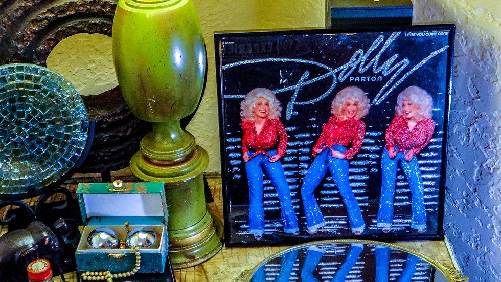 "Vintage ""Dolly"" Glittered Album"