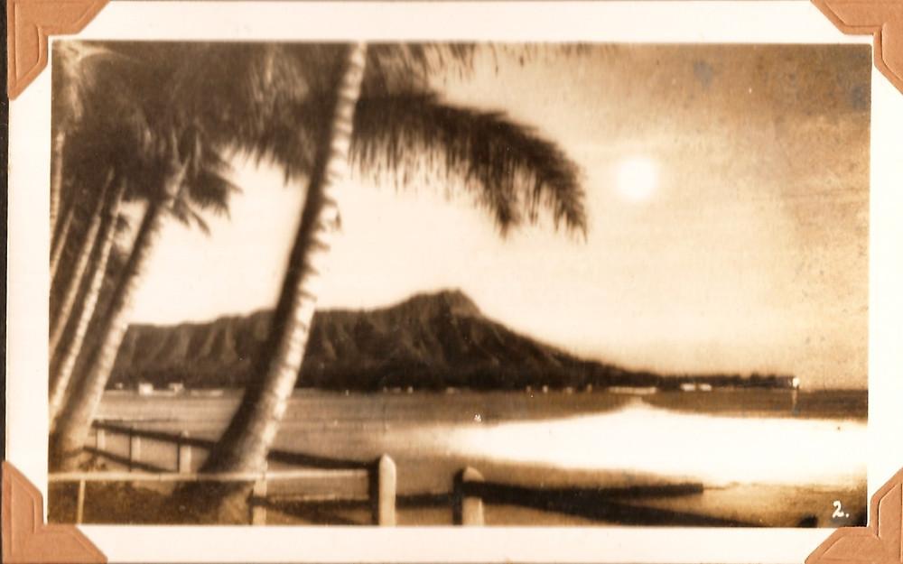 #hawaii #DiamondHead #America #Vintage #history