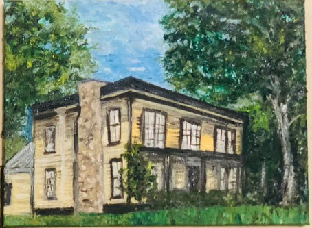 """A History in Oil- """"The Giddings-Wilkin House Museum"""""""