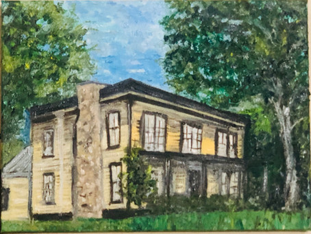 "A History in Oil- ""The Giddings-Wilkin House Museum"""