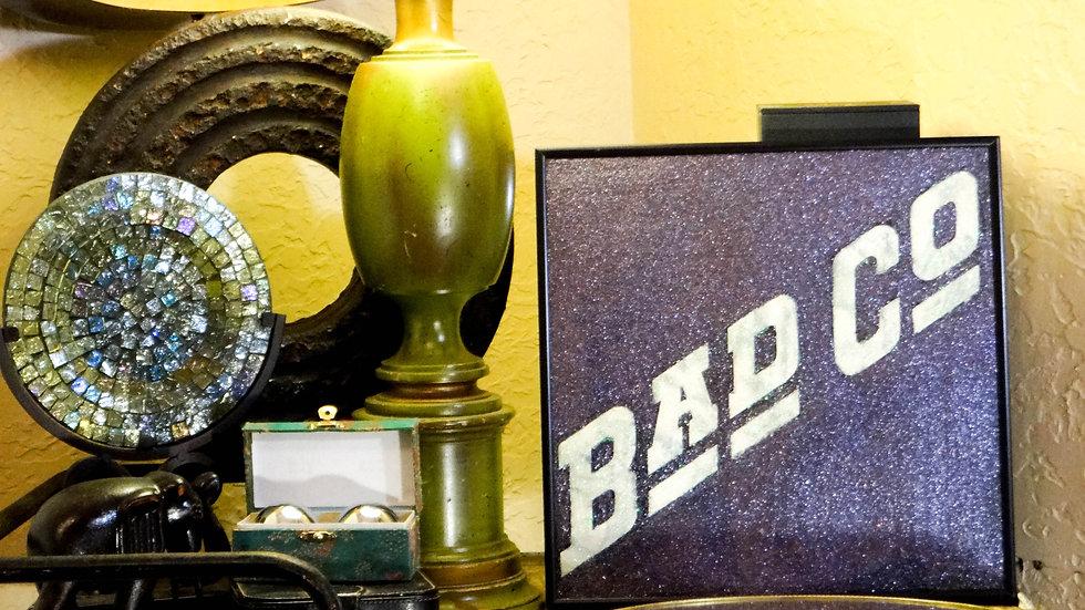 """Bad Co. """"Self Titled"""" Vintage Glittered Album Art"""