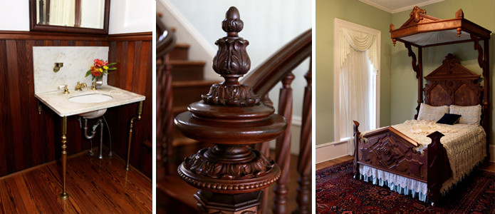A few pictures from the interior of the home found on Brenham Heritage Society website