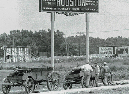 Vintage Houston - A Rare Glimpse at its Past  #Houston #HTown #HTX