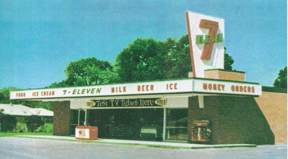 Vintage photograph of a Houston Texas