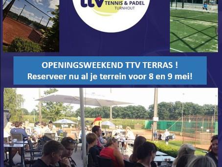 TTV terras open op 8 mei