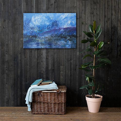 "Canvas Print - Memory of Y Ty No. 1 - 24 x 36"" - Artist Phuong Vu Manh"