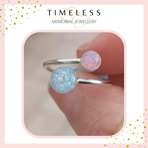 'Two Together' Ring