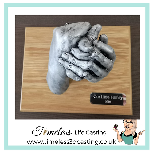 Family Hands Entwined