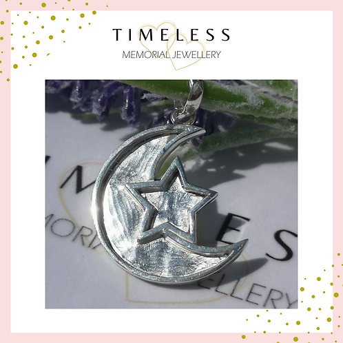 'Moon & Star' Pendant