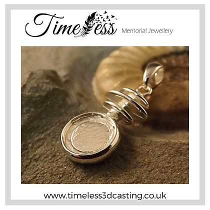 Double Sided Round Pendant