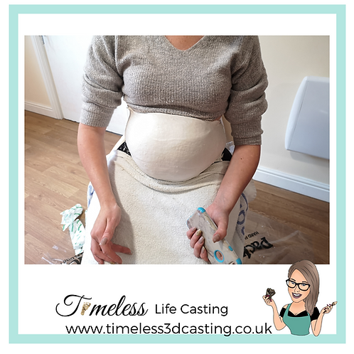 Pregnancy Plaster Cast