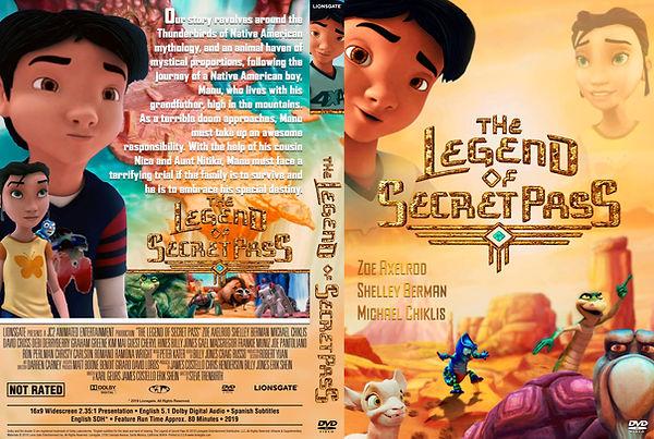 The Legend Of Secret Pass DVD Cover-1.jp