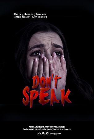 Dont's Speak Movie Poster 27x40-1.jpg
