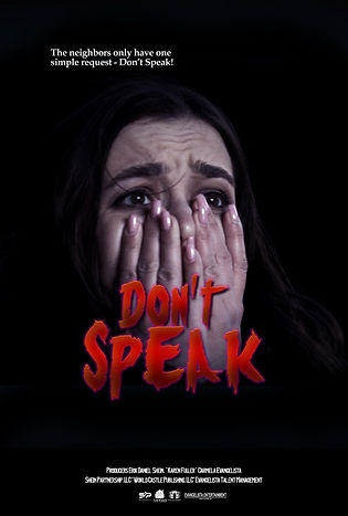 Dont's Speak Movie Poster 27x40-1.jpg