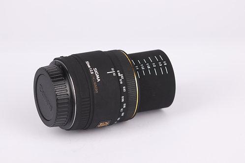 Sigma 50mm F/2.8 EX DG Macro Lens For Canon