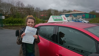 Female Driving Instructor Carlisle