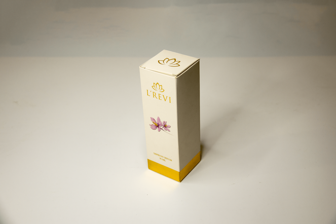 Product box packaging for beauty product