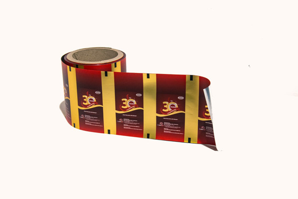 Rollstock Film for Anniversary Candy