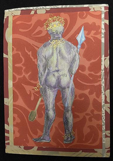 King avant la douche * 21 x 29,7 cm