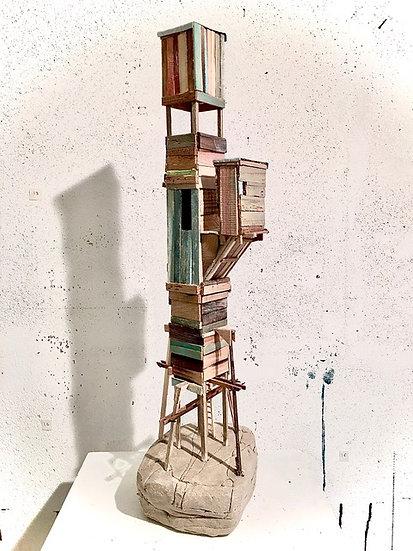 Refuge 17 * 52 x 18 x 12 cm * 2021 * Muriel Patarroni