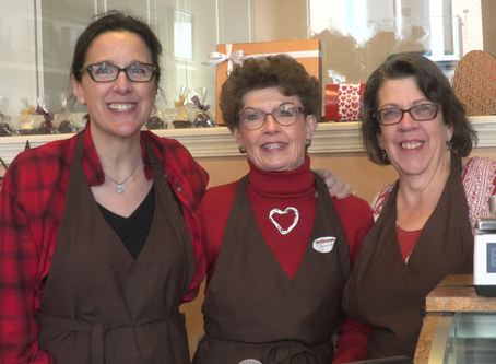 Valentine's Day Means Business For Bridge Street Chocolates
