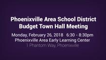 PASD Budget Town Hall Meeting