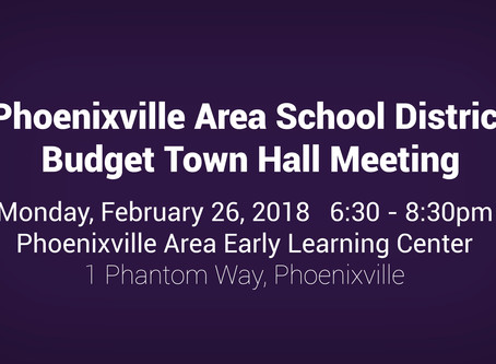 PASD Budget Town Hall Meeting