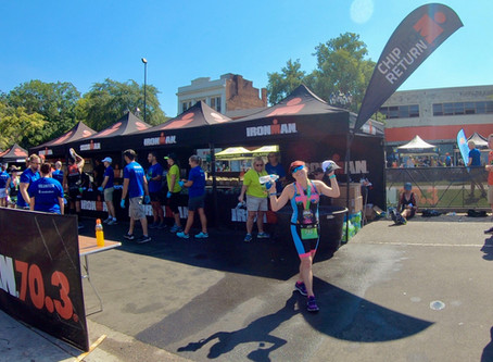 2019 Ironman Augusta 70.3 Race Report!