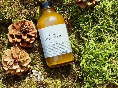 Pine Infused Chest Oil