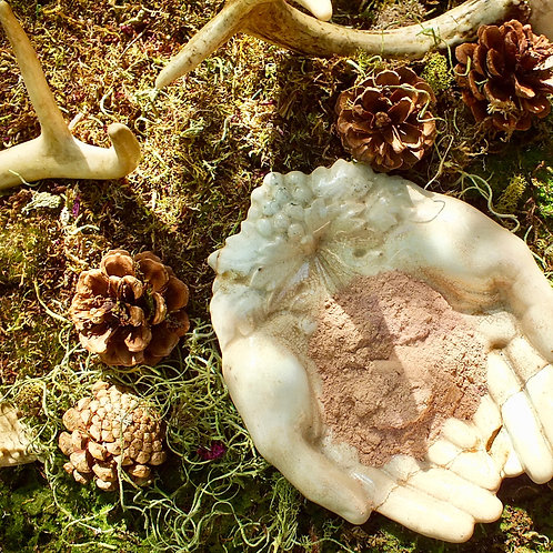 rose bud + red clay facial mask