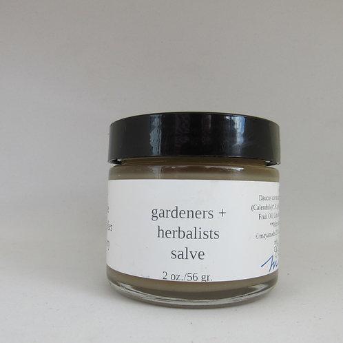 Gardeners + Herbalist salve