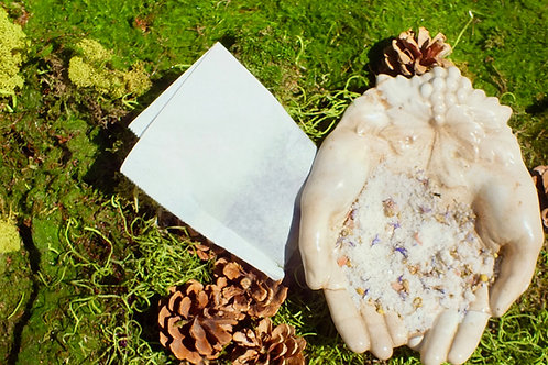 Blue Corn Flower + Chamomile Bath Soak
