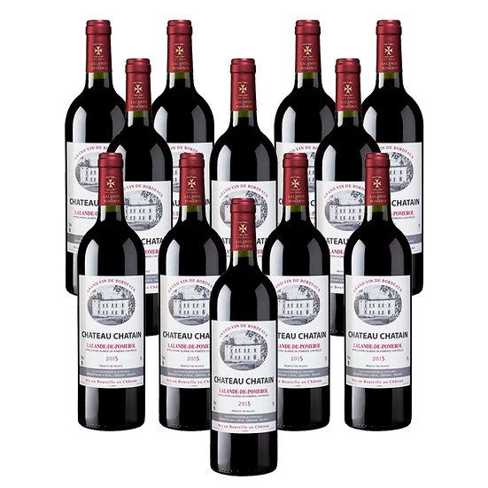 Château Chatain 2015 - 12 bouteilles