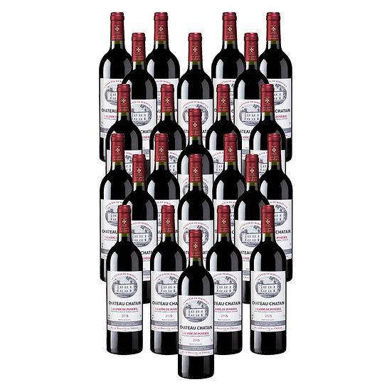Château Chatain 2015 - 24 bouteilles